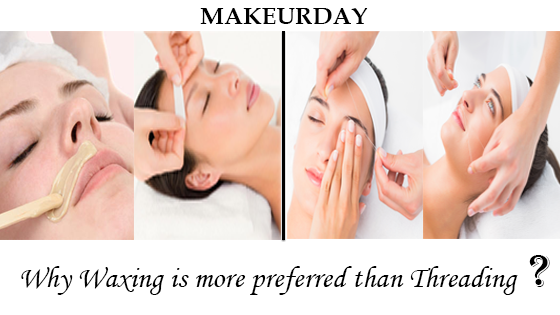 Why waxing is more preferred than threading?