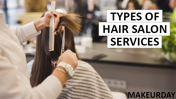 Hair Salon Services at MakeUrDay salon and spa